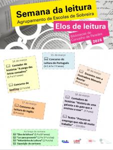 cartaz concelhio semana da leitura 2016 programa imagem